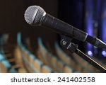 microphone on the stage and... | Shutterstock . vector #241402558