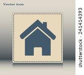 vector illustration of house  | Shutterstock .eps vector #241414393