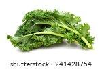 Kale Leafy Vegetable Closeup O...