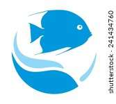 fish | Shutterstock .eps vector #241434760