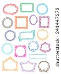 frames | Shutterstock .eps vector #241447273