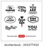 set of vintage retro labels... | Shutterstock .eps vector #241477423