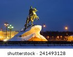 Peter The Great Monument In...