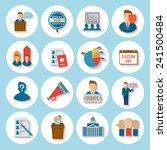 election president voting... | Shutterstock .eps vector #241500484