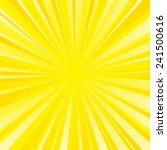 yellow color burst background.... | Shutterstock .eps vector #241500616