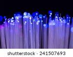 fibre optics fibre ends cables  | Shutterstock . vector #241507693