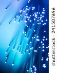 fibre optics fibre ends cables    Shutterstock . vector #241507696