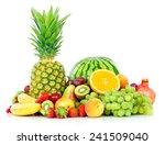 assortment of exotic fruits... | Shutterstock . vector #241509040