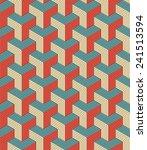 seamless pattern of retro...   Shutterstock .eps vector #241513594