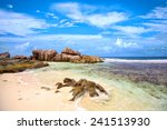 granite rock at anse pierrot... | Shutterstock . vector #241513930