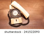 Vintage Rotary Dial Telephone...