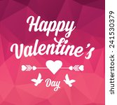 vector valentine's day party... | Shutterstock .eps vector #241530379