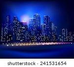 city skyline. vector... | Shutterstock .eps vector #241531654