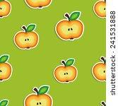 apple halves | Shutterstock .eps vector #241531888
