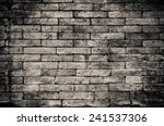 Stock photo brick wall background 241537306