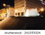 Fountains And Buildings At...