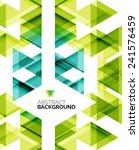 triangle geometric concept ... | Shutterstock .eps vector #241576459