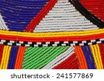 colorful african beads used as... | Shutterstock . vector #241577869