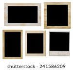 photo frames isolated on white | Shutterstock . vector #241586209