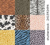 repeated wildlife animal skin... | Shutterstock .eps vector #241592494