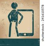 mobile concept human resource...