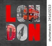 London Letters With Images On...
