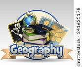 geography icon | Shutterstock .eps vector #241635178