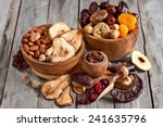 Mix Of Dried Fruits And Almond...