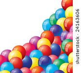 vector  balloons background | Shutterstock .eps vector #24163606