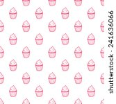 hand drawn seamless pattern... | Shutterstock .eps vector #241636066