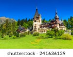 beautiful famous royal castle... | Shutterstock . vector #241636129