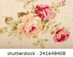 cotton linen fabric texture... | Shutterstock . vector #241648408