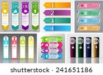 colorful modern text box... | Shutterstock .eps vector #241651186