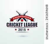 cricket championship league... | Shutterstock .eps vector #241654648