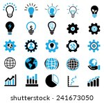 business icons | Shutterstock .eps vector #241673050