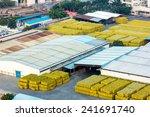 aerial view industrial estate | Shutterstock . vector #241691740