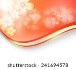 abstract floral vector... | Shutterstock .eps vector #241694578