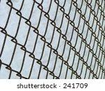 metallic fence | Shutterstock . vector #241709