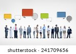 ethnicity business teamwork... | Shutterstock . vector #241709656