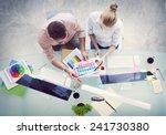 brainstorming planning... | Shutterstock . vector #241730380