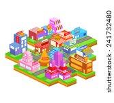 easy to edit vector... | Shutterstock .eps vector #241732480