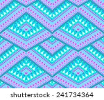 seamless geometric overlapping...   Shutterstock . vector #241734364