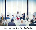 business people corporate... | Shutterstock . vector #241745494