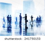 business people meeting... | Shutterstock . vector #241750153