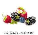Summer Berry Fruits. Berries....