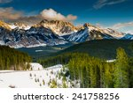 Scenic Winter Views Of The...