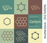 vector carbon graphene... | Shutterstock .eps vector #241765096