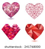 vector hearts collection. 4...