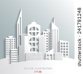 illustration of architectural... | Shutterstock .eps vector #241781248