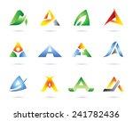 icon set vector   Shutterstock .eps vector #241782436